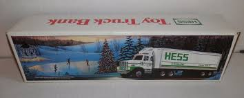 Hess 1987 Toy Truck Bank Nib Rare   Vintage Games And Collectibles ... Hess Truck Empty Boxes Toy Store Jackies 58 X 46 Hess Truck 1998 Creation Van Dune Buggy Motorcycle Tanker Truck Etsy Miniature Tanker Mint Ebay Amazoncom 2013 Tractor Toys Games Miniature Tanker First In A Series Mib Trucks 2018 Top Car Release 2019 20 Trucks Roll Out Every Winter Bring Joy To Collectors The 1499 Pclick Texaco Wings Of Mini 1991 Toy With Racer