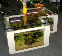 كل أنواع الوسيط طاولة نهاية table salon aquarium