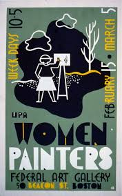 Harlem Hospital Wpa Murals by Poster For Exhibition Of Wpa Women Painters At The Federal Art