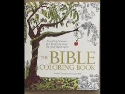 The Bible Coloring Book Inspiring Scenes And Scripture From Old Testament Flip Through