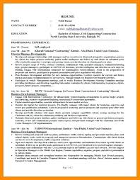 Self Employed Resume Templates