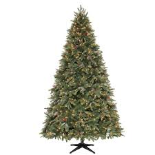 Slimline Christmas Trees Artificial by Martha Stewart Living 9 Ft Andes Fir Quick Set Slim Artificial