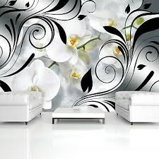 vlies fototapete blumen abstrakt orchidee 3d schlafzimmer