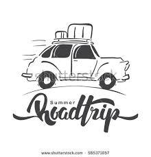 Road Trip Car Stock Images