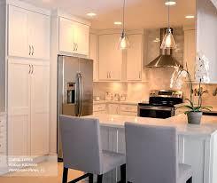 Shaker Cabinet Knob Placement by White Shaker Kitchen Cabinets Masterbrand Style 16 Best Cabinet