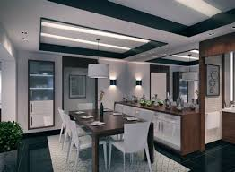 Contemporary Apartment Dining Room Interior Design Ideas