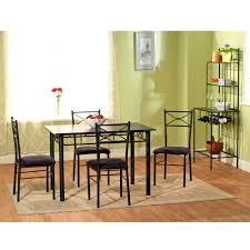 Dinette Sets With Caster Chairs by Furniture Interesting Homelegance Tulip Dining Table Small Metal