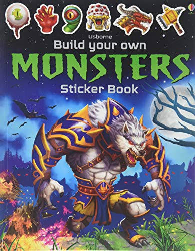 Build Your Own Monsters Sticker Book - Simon Tudhope