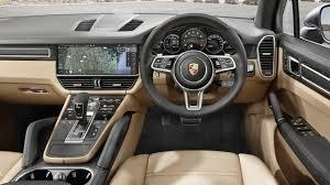 Cayenne Porche 8 2018 Porsche Cayenne INTERIOR