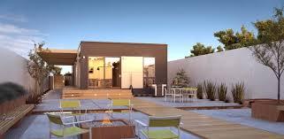 100 Blu Homes Prefab Origin Urban Backyard Silicon Valley Home Ideas House