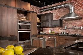 armoires de cuisine style loft industriel industrial kitchen