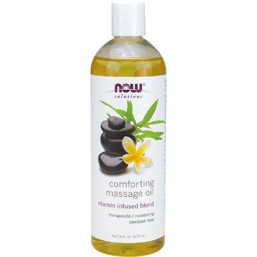 Now Foods Solutions Comforting Massage Oil - 473ml