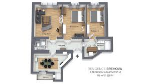 Two Bedroom Apartment | Residence Brehova Watch This Tiny Studio Transform Into A Twobedroom Apartment One Two Three And Four Bedroom Apartments In Round Rock Terrific 2 Ideas 1 Sanford Me At Manor Interesting Floor Plans Pictures Design House Plan 28 Images For Rent Dallas Alta Strand Interior 25 Houseapartment Amazing Architecture New In Draper Utah Parc West