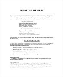 Corporate Marketing Strategy Template Brief Business