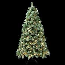 Cashmere Christmas Tree Fir Cone Berry Pre Lit Green 8ft