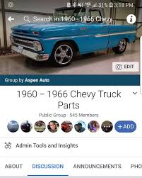 Aspenauto - Aspen Auto - If You Are On Facebook Check Out Our New ... 1966 Chevy C10bennie N Lmc Truck Life C 10 Stepside Pickup Fully Restored Ideas Of 66 C10 Wire Diagram Library Wiring Diagrams 1967 Parts Save Our Oceans C10dakota A The Trucks Page 1940 Chevy Truck Bedside Curl Hole Polished Alinum Caps Flashback F10039s New Arrivals Of Whole Trucksparts Or Motormax 124 Off Road Fleetside Diecast Fuse Block Part Trusted Steering Column Diy Enthusiasts