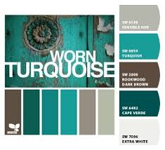 Worn Turquoise By Design Seeds With Color Codes