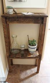 A Small Things To Make With Pallets Pallet Rustic Wine Cabinet Wood Upcycling Project Easy And