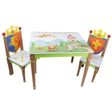 Fantasy Fields Knight Play Table W Chairs