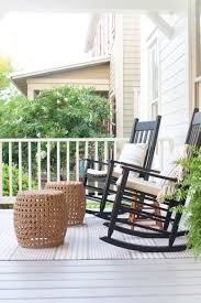 The Lettered Cottage Front Porch | Rocking Chairs | Ottomans ... Sunnydaze Outdoor Patio Rocking Chair Allweather Faux Wood Design Gray Mbridgecasual Amz130818g Bentley Porch Rocker Green Intertional Concepts Black Solid Types Of Chairs Sunniland White Wooden Pamapic 3piece Bistro Set Wicker Chairstwo With Seat And Back Cushions Beige Sophisticated Glass 4 Cast Alinum Frame W Red Acrylic 32736710 Bradley Slat Outside Nautical Msoidkinfo Jumbo Front Stock Photo Image Light