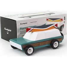 100 Aspen Truck Candylab Pioneer W Canoe Wooden Toy Seafoam Sportique