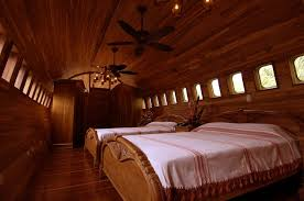 Aircraft converted to hotels