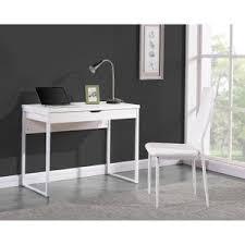 meuble informatique blanc laque 8 bureau console blanc achat