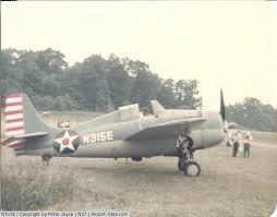 Aircraft N315E 1952 General Motors Grumman FM 2 Wildcat C N Not