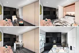 100 Small Modern Apartment This Has A Wall Of Hidden Uses