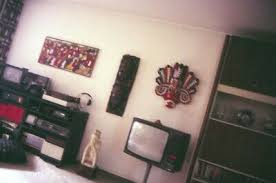 dia alte wohnungseinrichtung wohnzimmer kleinbildformat