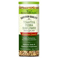 Roasted Unsalted Pumpkin Seeds Nutrition Facts by Nourishvitals Tomato U0026 Pudina Sunflower Roasted Seeds Superior