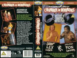 Halloween Havoc 1998 Card by Wcw Vhs