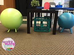 Ball Seats For Classrooms by Reading And Writing Redhead September 2016