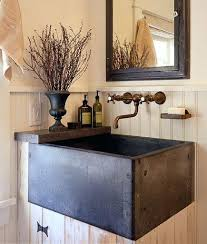 Double Faucet Trough Sink Vanity by Da Concrete Sink And Custom Vanity Industrial Bathroomtrough Basin