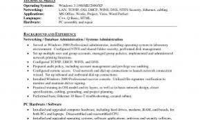 Resume Objective Examples Network Administrator Beautiful Page 28 Best Example Resumes 2018 Suiteblounge