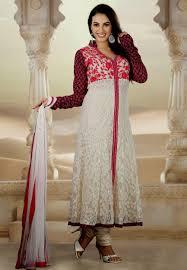Simple Dress Designs Salwar Kameez 2014 Re