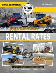 Star Equipment Rental Guide By Winsby Inc. - Issuu