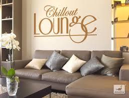 spruch wandtattoo wohnzimmer chillout lounge wanddeko