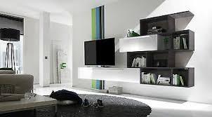 wohnwand mediawand anbauwand schrankwand design wohnzimmer