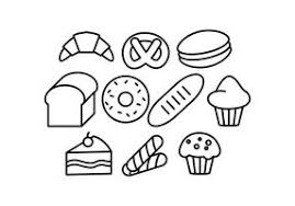Free Pastry Line Icon Vector