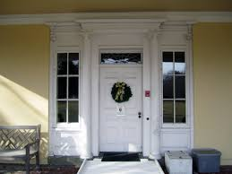 Decorating Dazzle White Wood Stained French Patio Doors Lowes