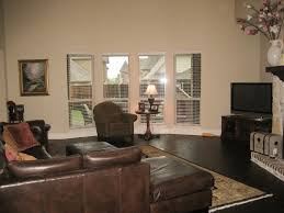Dark Brown Couch Decorating Ideas by Living Room Excellent Dark Hardwood Floor For Minimalist Living