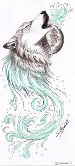 Other Photos To Feminine Wolf Tattoo Design