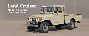 Toyota Global Site | Land Cruiser | Model 40 Series_01 Check Out The Reissued Toyota Land Cruiser 70 Pickup Truck The 1964 Fj45 Landcruiser Still Powerful Indestructible Australia Ens Industrial Cruisers Top Cdition Waiting For You 2014 Speed Used Car Nicaragua 2006 1981 Bj45 Second Daily Classics 1978 Hj45 Long Bed Pickup Price 79 Pick Up Diesel Hzj Simple Cabin