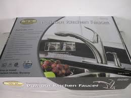 Water Ridge Pull Out Kitchen Faucet by Water Ridge Patrician Series Kitchen Faucet Brushed Nickel Ebay