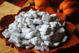 Pumpkin Spice Chex Mix With Candy Corn by Pumpkin Spice Puppy Chow