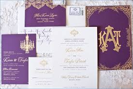 Purple and Gold Wedding Invitations loadpictures