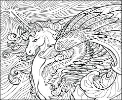 Unicorns Coloring Pages Unicorn For Adults Pink Fluffy Book Pdf P