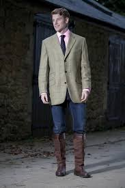 Smart But Practical In The Dubarry Bramble Mens Tweed Blazer