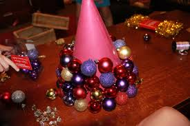 Christmas Trees Kmart by Christmas Craft U2013 Diy Bauble Tree Stay At Home Life